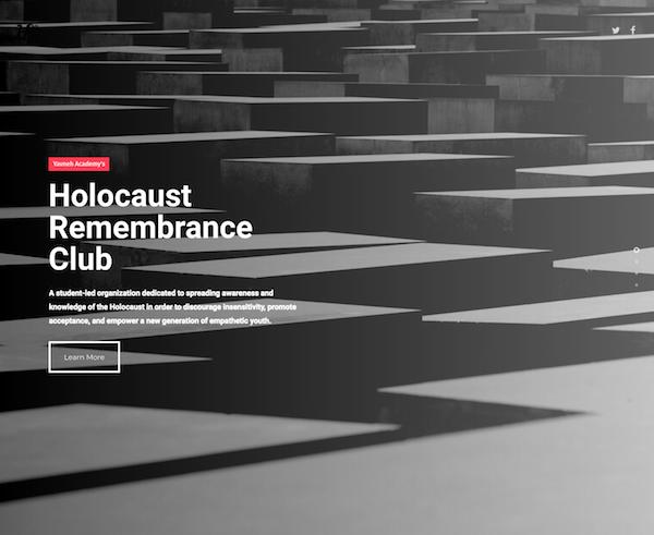 Holocaust Remembrance Club — Case Study